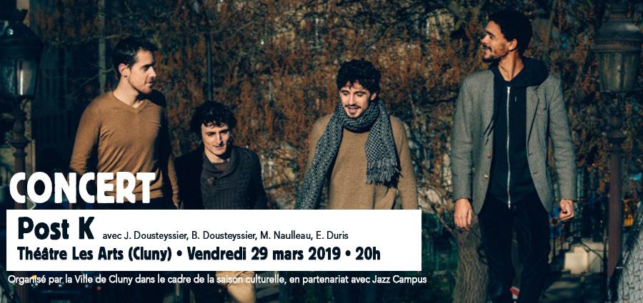 Jazz Campus - Concert le 29 Mars 2019