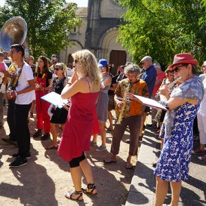 Jazz Campus en Clunisois atelier Fanfare