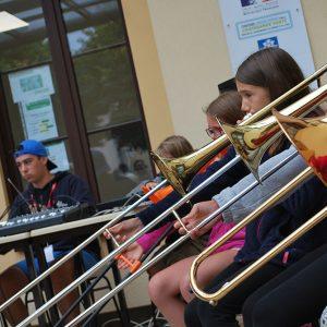 Jazz Campus en Clunisois stage enfants